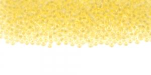 Terahelmed, seemnehelmed, Nr.11 (2-2.2 mm), Preciosa Helekollase auguga, läbipaistvadTerahelmed, HH86