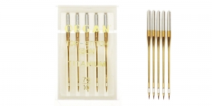 Titanium covered Topstich Needles for Home Sewing Machines, Organ No.70 (10)