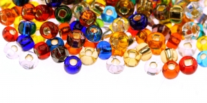 Czech Rocaille (Seed), Beads, 3/0 (5.3-5,8mm), Preciosa, Color: HP16