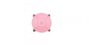 KN64/IR146 10mm Heleroosa piimjas plastikkristall