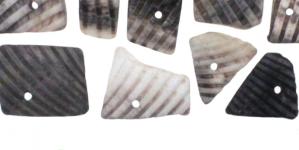 JF14 / Beežikas-hallikates toonides teokarbist helmed / 9-20mm