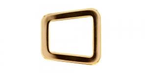 28x22mm Kuldne, kandiline vahedetail SHP123/IR714
