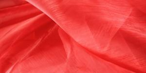 Punane organza laiusega 150cm Art.4130-10