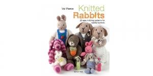Raamat `Knitted Rabbits`
