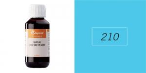 Siidivärv, batikavärv, kangavärv H`Dupont Classique, 125 ml,  LAGOON BLUE 210