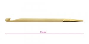 Bambusest tuniisi heegelnõelte vahetatavad otsikud Bamboo, Nr. 8,0mm, KnitPro 22530