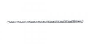 20x0,5cm Metallist korsetiriba