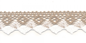 Cotton Crochet Lace 3707-N1, 4 cm
