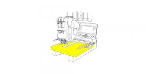 Дополнительный столик для вышивальной машины серии MB Janome #770814106