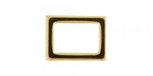 21 mm x 16 mm Kuldne, kandiline vahedetail SHP109/IR833