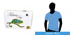 Vielo Washing Machine Fabric Dye, 200 g, Jasper Blue