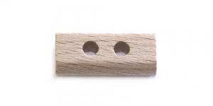 SB103 Helepruun, naturaalne puitnööp läbimõõduga 25x12mm