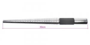 Terasest sõrmusemandrell A-Z & 1-6, 30cm, PK6007, TF7