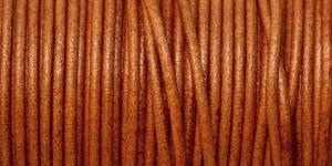 Nahkanyöri, aitoa nahkaa, ø3 mm, väri: whiskey EG0045