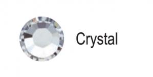 Triigitav MC kristall SS6 Särav kristall, värvitu / Crystal