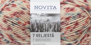 Villasisaldusega sokilõng 7 Veljestä Napapiiri, Novita, värv, 851
