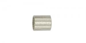Hõbetatud pärlipidur,helmes, 1,8mm, JFCT2S-1Z