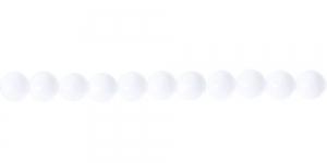 Pyöreä lasihelmi - Tsekki, Jablonex, 8mm, LN342