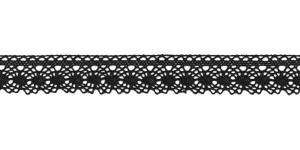 Puuvillane pits, 3105-14 laiusega 2cm, värv must