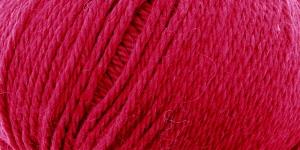 Siidi ja alpakavilla sisaldusega lõng Almeria, värv nr.3 punane