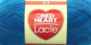 Siidjalt pehme akrüüllõng Lacie, Red Heart, värv nr. 5, türkiissinine