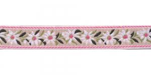 Linahall pael valgete, roosade õitega, Art.9451150, värv 251