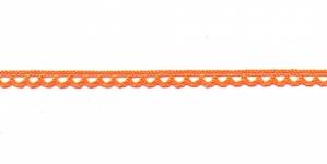 Puuvillane pits 3174-17 laiusega 0,8 cm, värv oranž