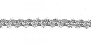 Kружево 1084-H2, 1,5 cm