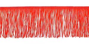 Lihtsad narmad pikkusega 10 cm, värv punane, 8