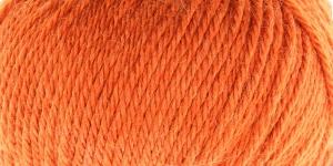 Siidi ja alpakavilla sisaldusega lõng Almeria, värv nr.13 oranžikas