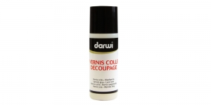 Lakk, liimlakk, dekupaaži lakk Darwi Varnish Glue, 80ml