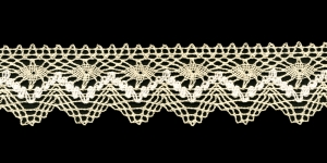 Cotton Crochet Lace 3201-J1, 3 cm