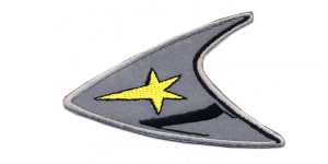 H1 8,5x5,5cm Helkur, musta-kollasega