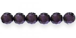 AD72 12mm Mustjas tumelilla läbipaistev akrüülkristall