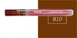 Naha viltpliiats Darwi Leather, 2mm joon, 6ml, COCOA 810