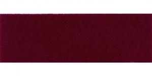 Mustjaspunane samet diagonaalkant / 18mm, `Vellut` / Värv 48