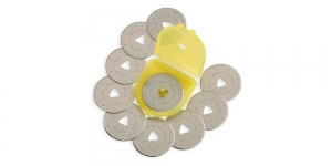 Replacement Rotary Blade; 10pcs, ø28mm, OLFA, RB28-10
