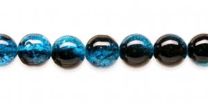 KE22 12mm Sinine, must läbipaistev mõraline klaashelmes