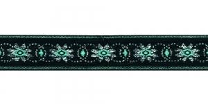 Lilleõitega dekoratiivpael, laiusega 26 mm, värv 4, Art. 4070L