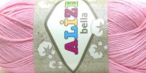 Puuvillane lõng Bella; Värv 32 (Heleroosa) / Alize