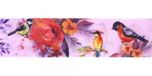 Õrna õiemustriga ripspael laiusega 48mm, Art.P1771, värv 832