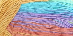 Puuvillasisaldusega pehme lõng, Cotton Gold Batik Design; Värv 4530 (Värvisegu) / Alize
