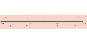 Kudumismasina indikaatorlint (numbrilint) KH 3.klass