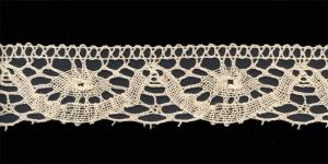 Puuvillane servapits, Cotton (Crochet) Lace, 1683-58, kreemjas, laiusega 4cm