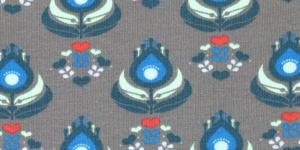 Puuvillane elastaaPuuvillane elastaaniga trikookangas kangas Hall, kirju mustriga 3006/125.359
