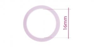 UA111, Muovirenkaat, ns bikinirenkaat tai rintaliivirenkaat, ø16mm, väri: vaalean violetti