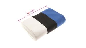 Sini-musta-valkoinen (Eestin kansallis)nauha, 150mm