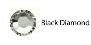 Triigitav MC kristall SS30 Hallikas kristall /  BlackDiamond