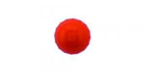 ø11 mm Punane, läikiva pinnaga kannaga nööp SV399