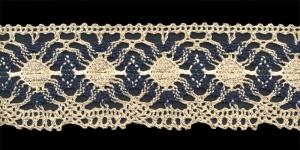 Cotton Crochet Lace 1823-N3, 7 cm